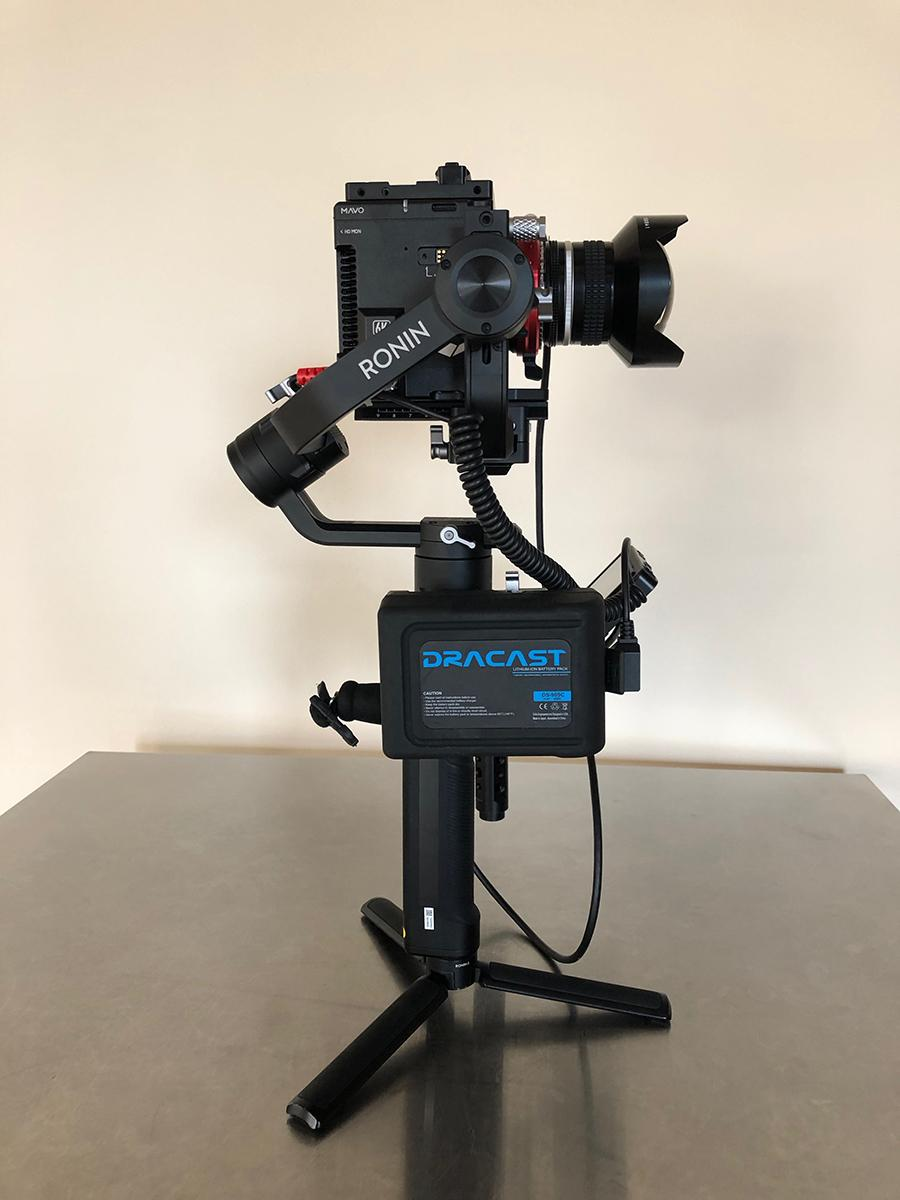 Kinefinity MAVO on Ronin S 05