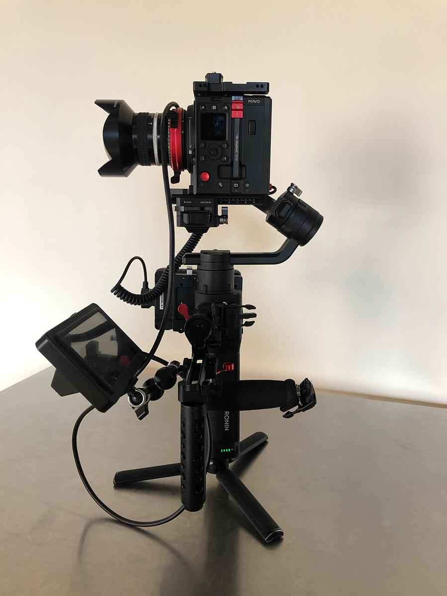 Kinefinity MAVO on Ronin S 04