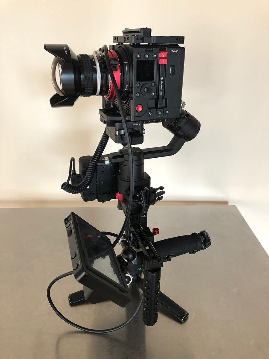 Kinefinity MAVO on Ronin S 01